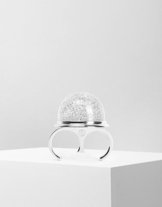 MM6 MAISON MARGIELA Snow globe ring Ring [*** pickupInStoreShipping_info ***] f