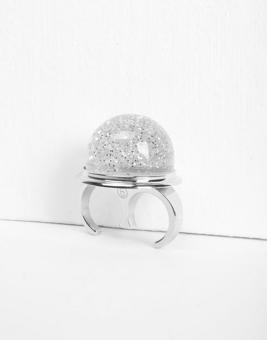 MM6 MAISON MARGIELA Snow globe ring Ring [*** pickupInStoreShipping_info ***] r