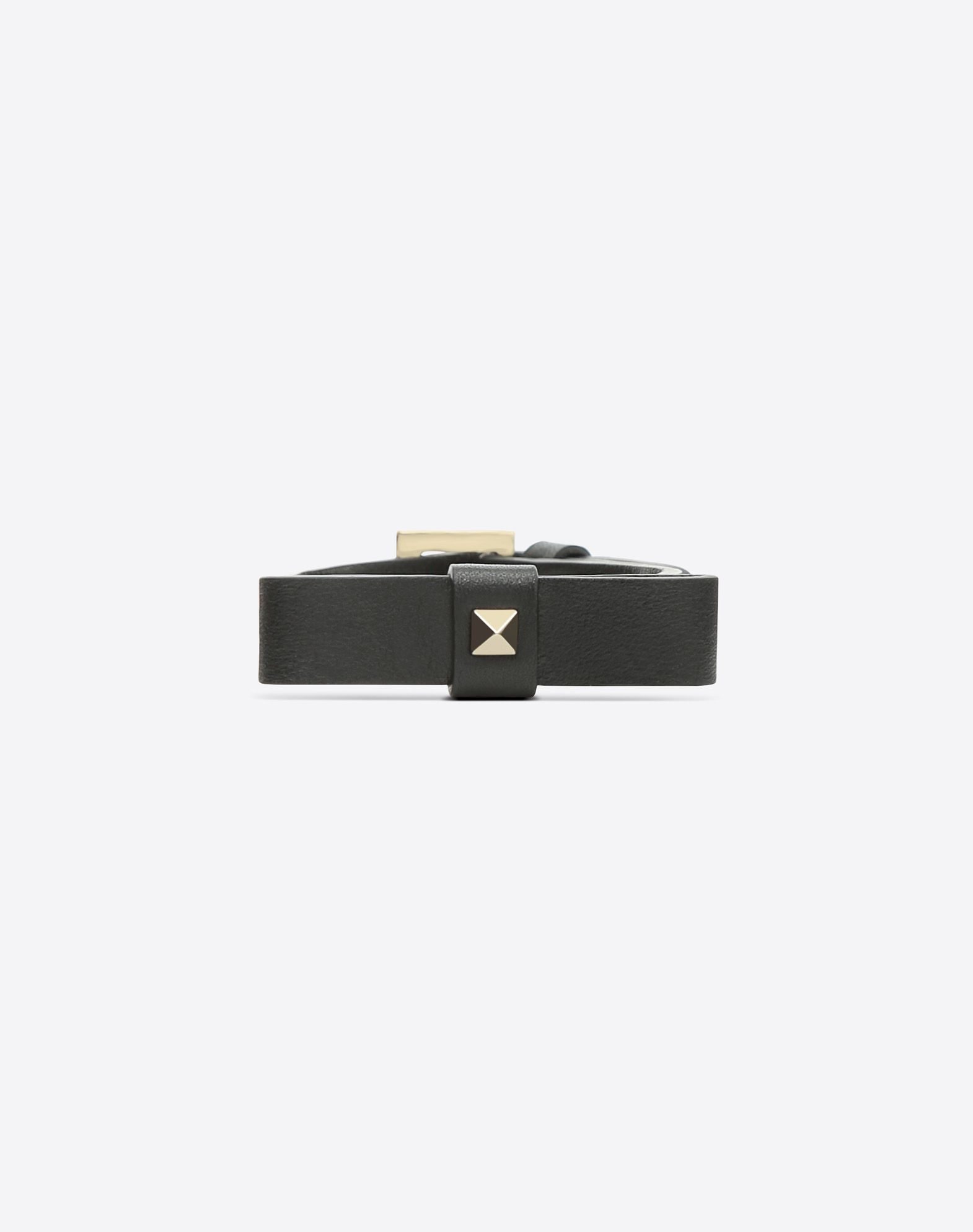 VALENTINO Logo Bow-detailed Studs Buckle  50213496vw