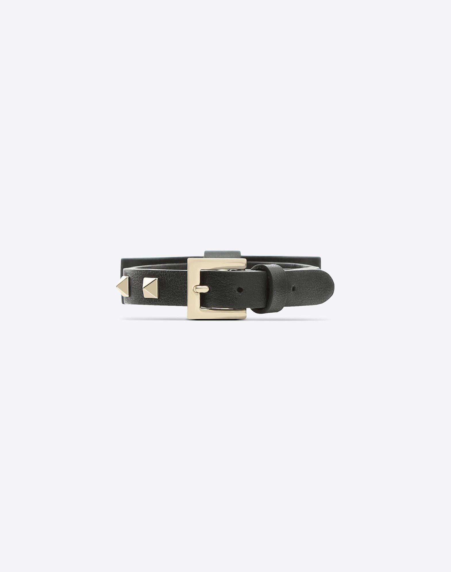 VALENTINO GARAVANI Rockstud Bracelet with bow detail Bracelet D d