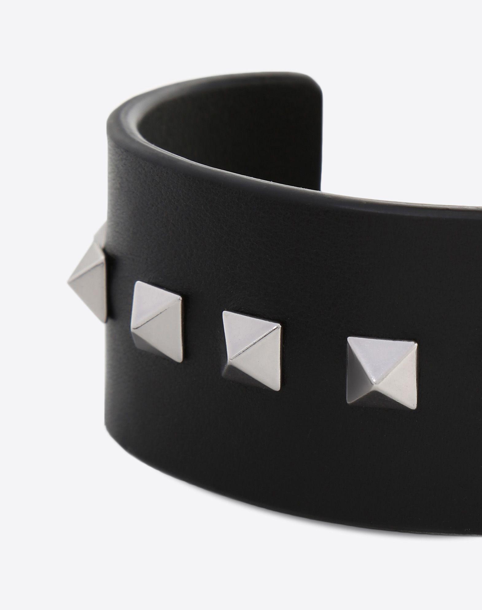 VALENTINO GARAVANI UOMO Rockstud bracelet Bracelet U e