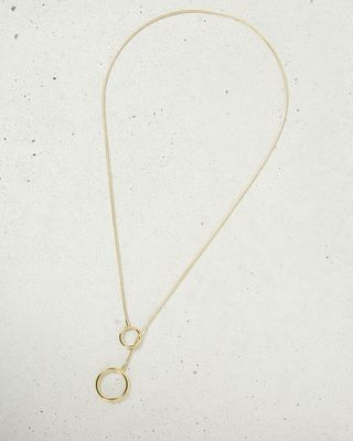 JEANNOT silver tone necklace