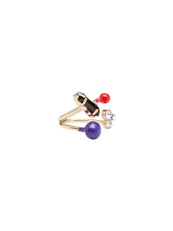 Marni Gold metal ring Woman