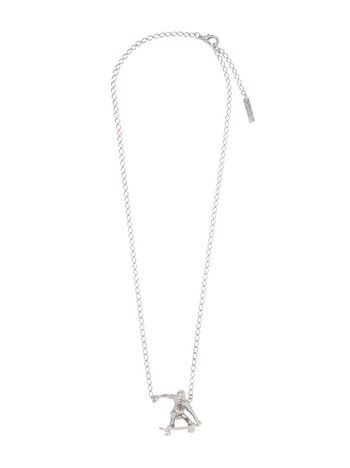 Marni Necklace in metal with skater-shaped charm Man