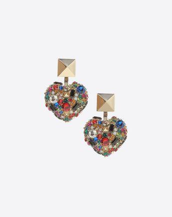 VALENTINO GARAVANI Earrings D Earrings with crystals f