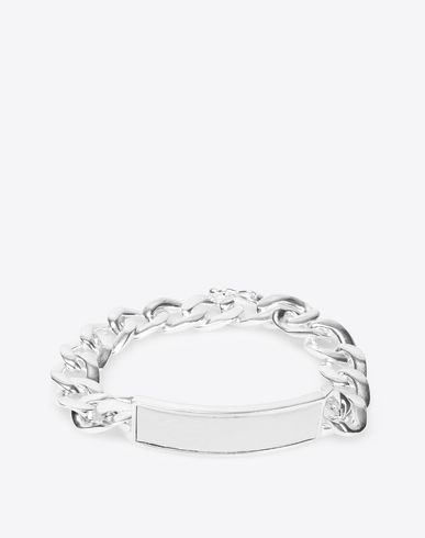 MAISON MARGIELA Bracelet Man Contrasted anonymous ID bracelet f