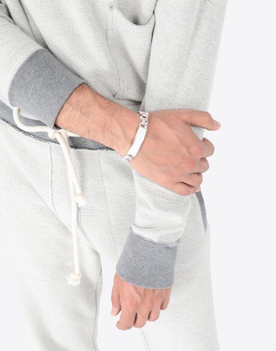 MAISON MARGIELA Contrasted anonymous ID bracelet Bracelet [*** pickupInStoreShippingNotGuaranteed_info ***] b