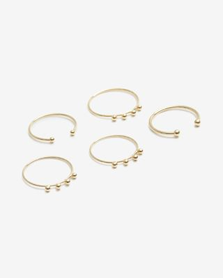 Set of 5 NIRVANA rings