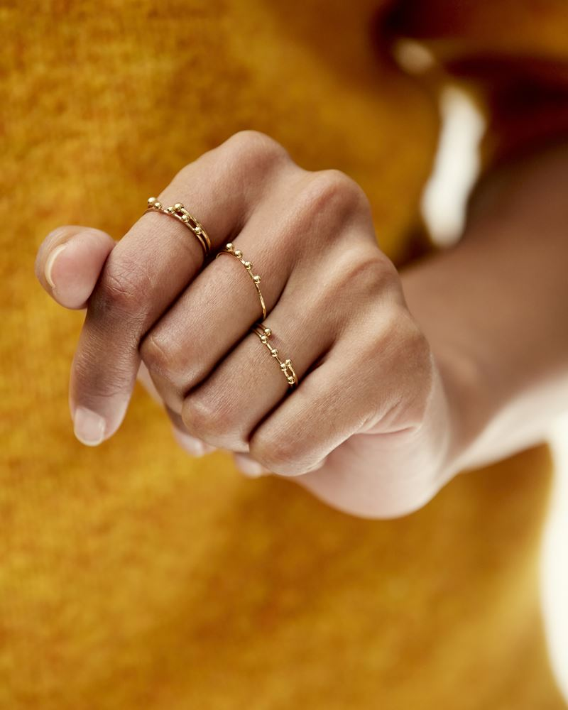 Set of 5 NIRVANA rings ISABEL MARANT