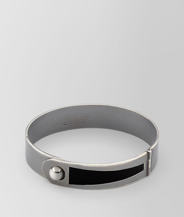 BOTTEGA VENETA NERO SILVER BRACELLET Bracelet [*** pickupInStoreShippingNotGuaranteed_info ***] fp