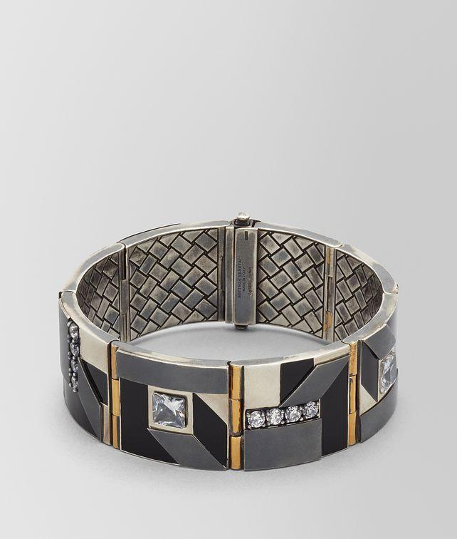 BOTTEGA VENETA BRACELET EN ARGENT/ÉMAIL/ZIRCON CUBIQUE Bracelet Femme fp
