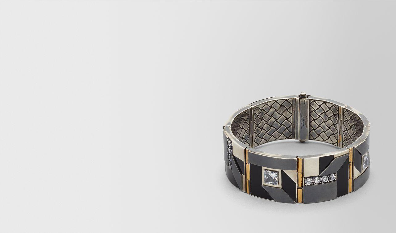cubic zirconia/enamel/silver bracelet landing