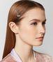 cubic zirconia/silver hair clip Front Detail Portrait