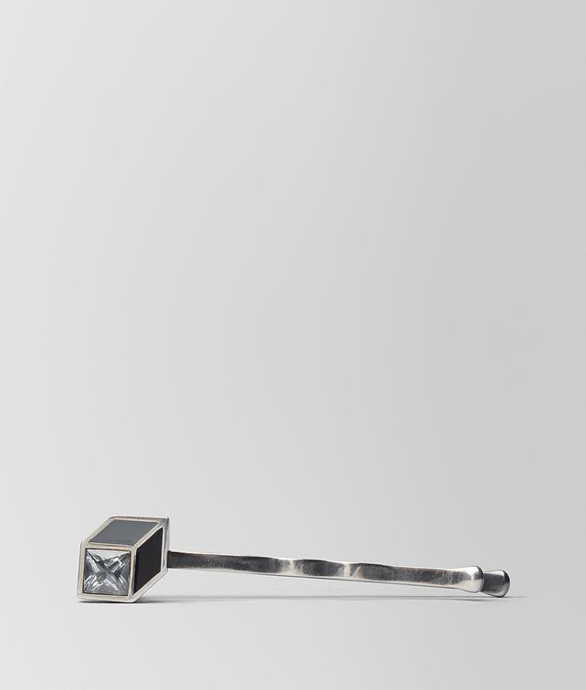 BOTTEGA VENETA CUBIC ZIRCONIA/ENAMEL/SILVER HAIR CLIP Other Jewelry [*** pickupInStoreShipping_info ***] fp