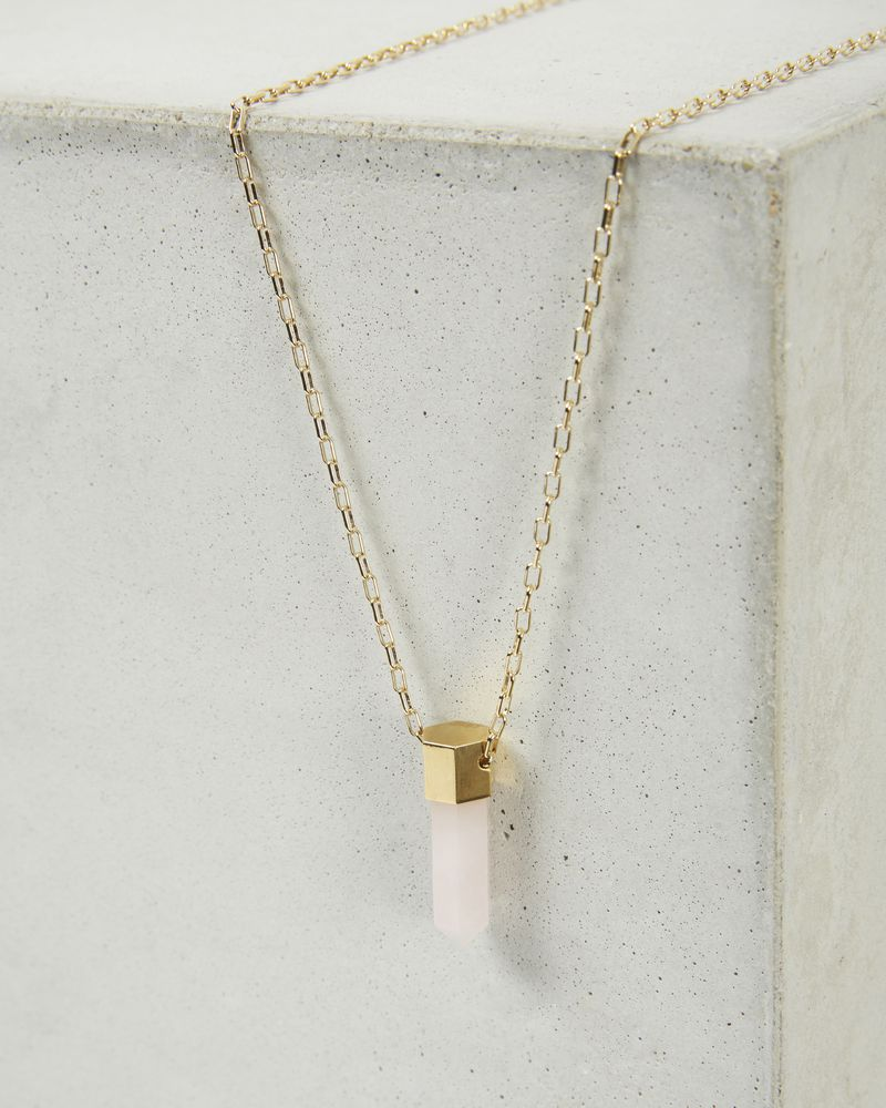 CRYSTAL gold tone necklace  ISABEL MARANT