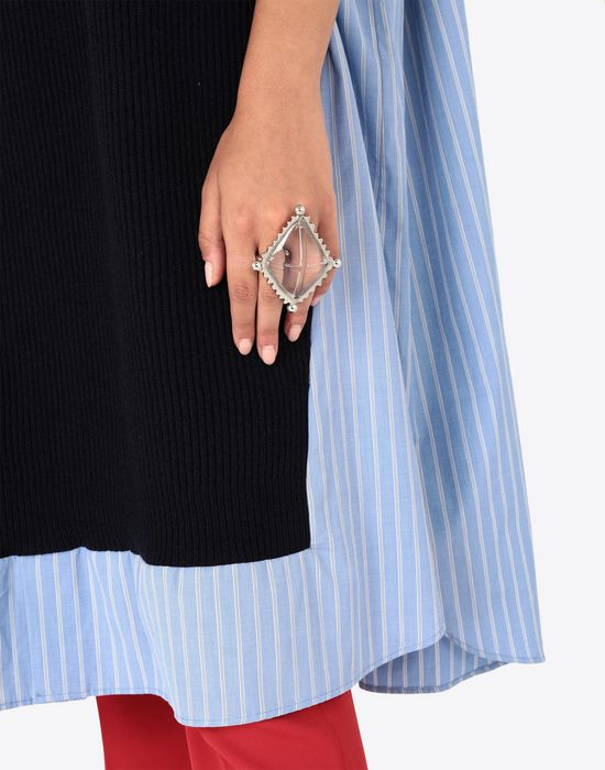 MAISON MARGIELA 'Invisible' diamond ring Ring [*** pickupInStoreShipping_info ***] b