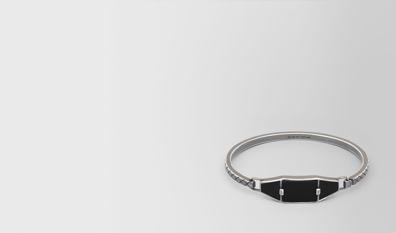 onyx/silver/enamel bracelet landing
