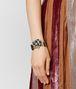 onyx/cubic zirconia/silver bracelet Front Detail Portrait
