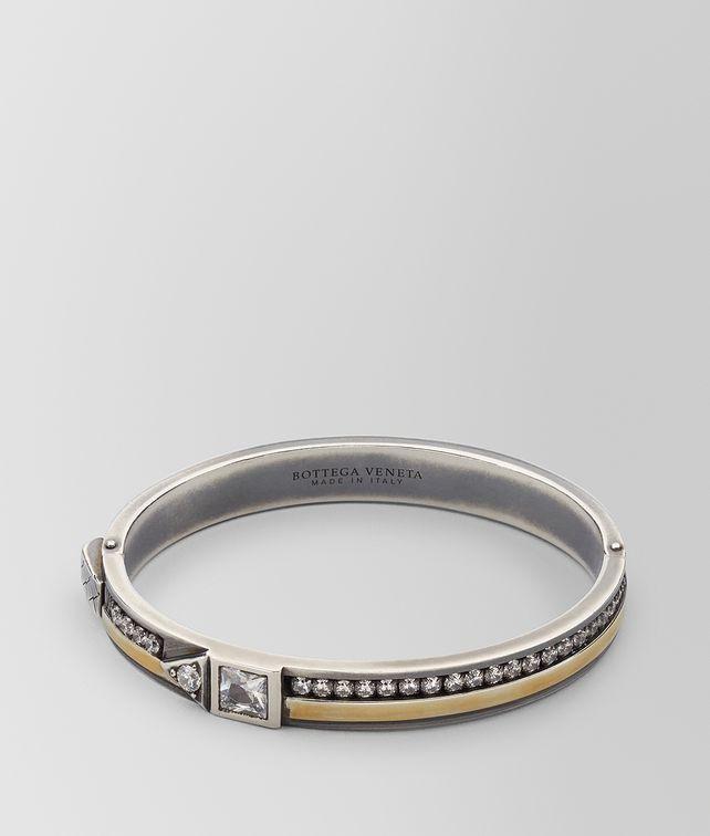 BOTTEGA VENETA CUBIC ZIRCONIA/SILVER BRACELET Bracelet [*** pickupInStoreShipping_info ***] fp