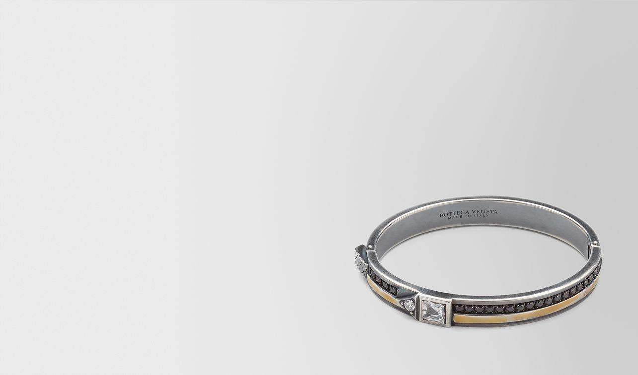 cubic zirconia/silver bracelet landing