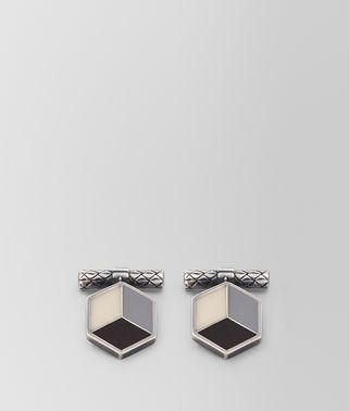 MULTICOLOR SILVER CUFFLINKS