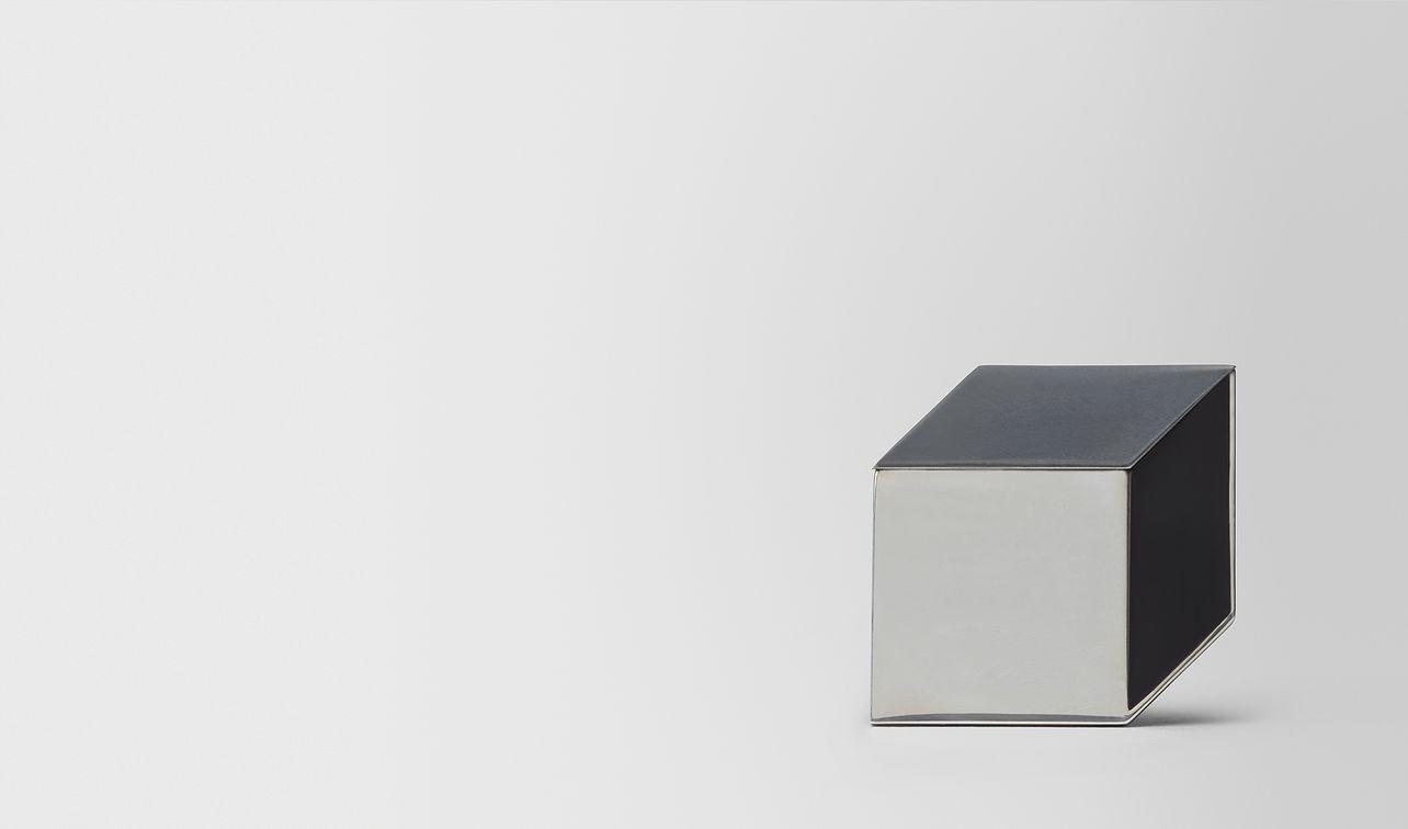 spilla in smalto/argento nero landing