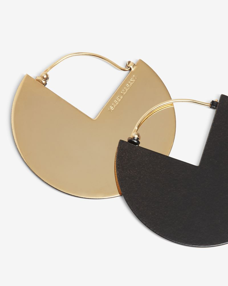 HALF GLOSSY earrings ISABEL MARANT
