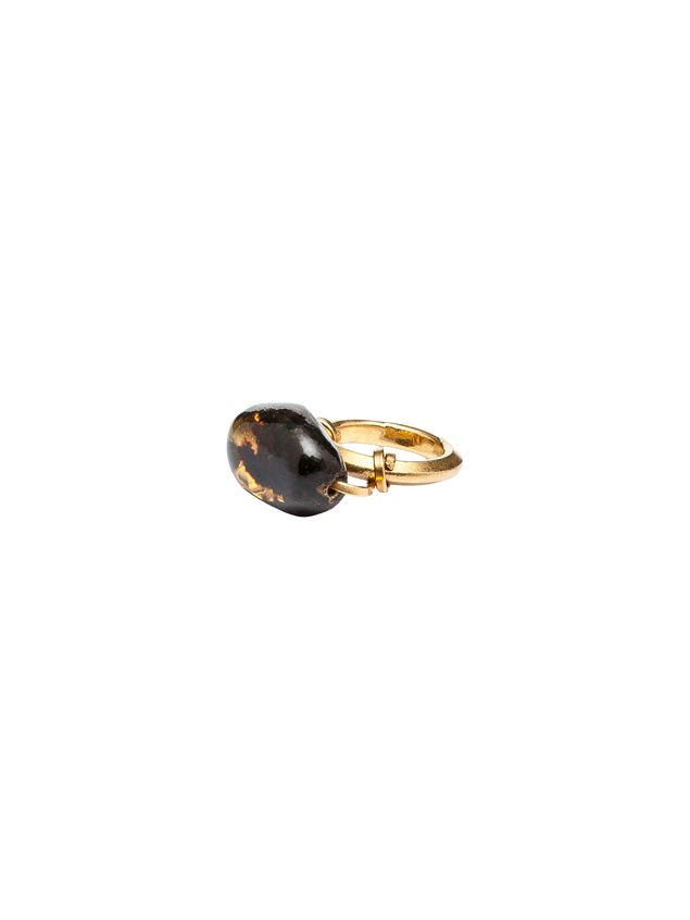 Marni AMBER ring in gold-colored metal Woman - 3
