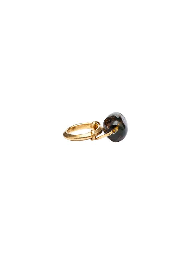 Marni AMBER ring in gold-colored metal Woman - 2