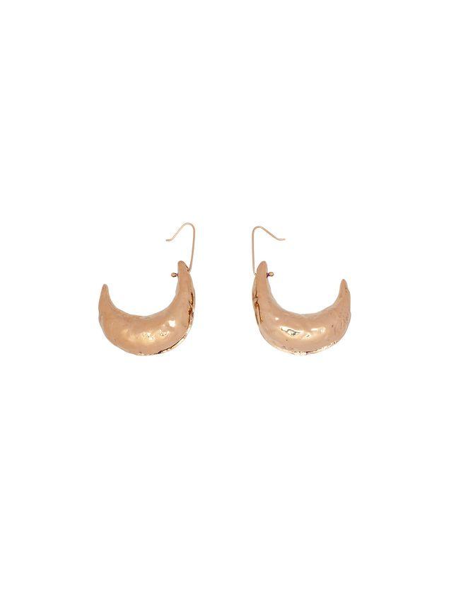Marni Hook earrings in brass TRIBE Woman - 1