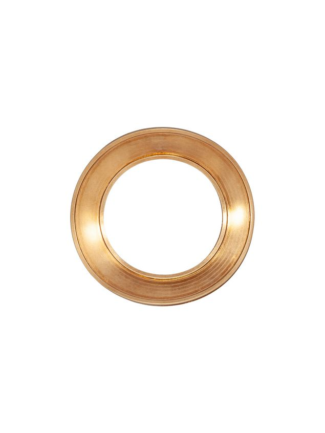 Marni MONILE metal rigid bracelet with brass finish Woman - 1