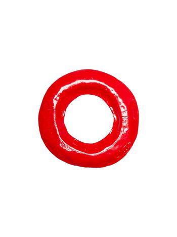 Marni RIOT rigid bracelet in red enameled metal Woman