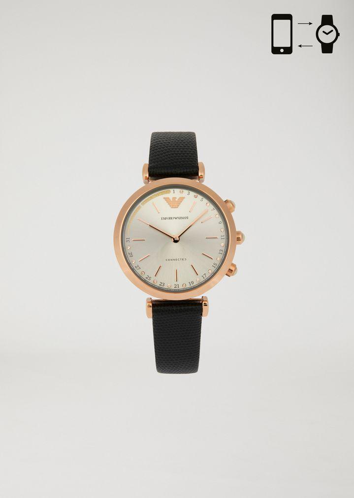 fffecc61b Hybrid Watch | Woman | Emporio Armani