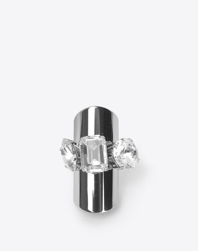 MAISON MARGIELA Trio crystallised display rings Ring [*** pickupInStoreShipping_info ***] f