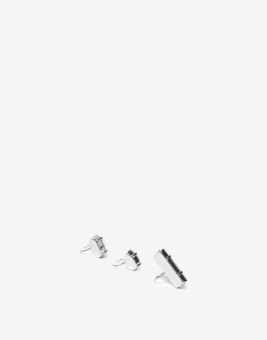 MAISON MARGIELA Triple crystal earcuffs Earrings [*** pickupInStoreShipping_info ***] d