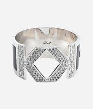 KARL LAGERFELD Bracelet manchette Double K 9_f