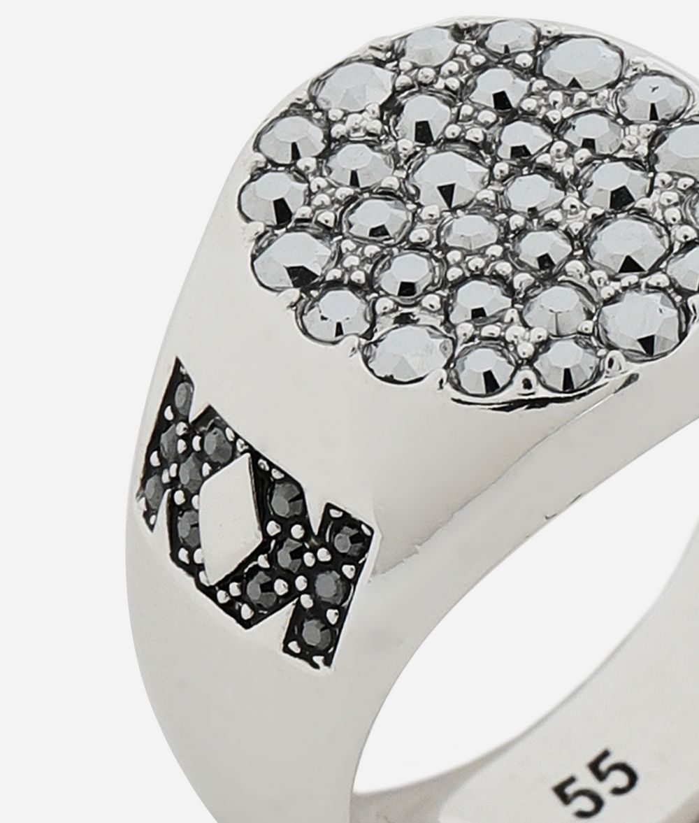 KARL LAGERFELD Double K Signet Ring Ring Woman d