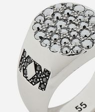 KARL LAGERFELD Double K Signet Ring 9_f
