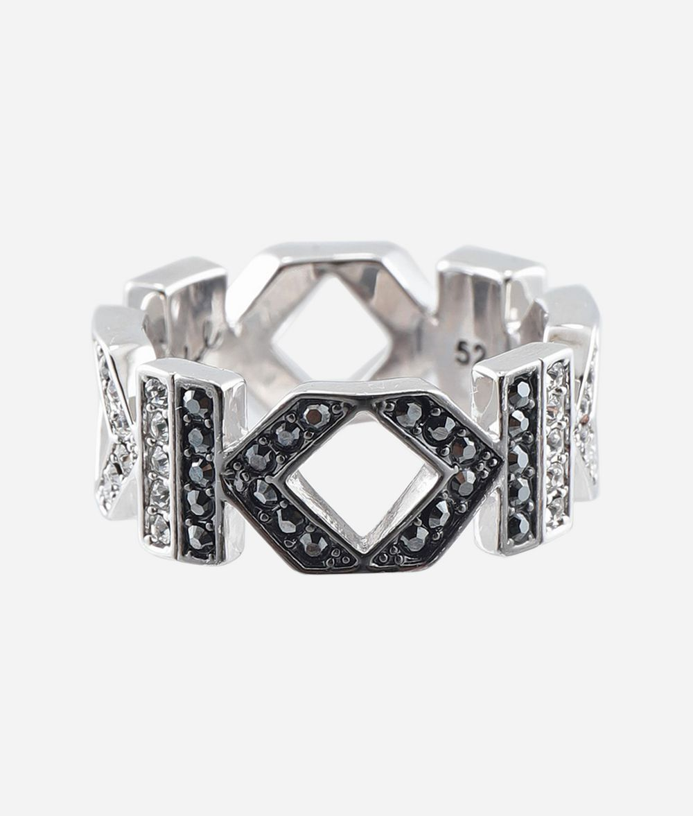 KARL LAGERFELD Double K Ring Ring Woman f