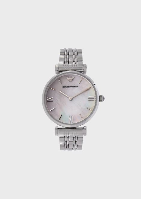 Women's analogue watch in stainless steel