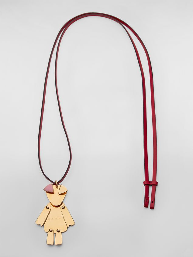 Marni CHINESE NEW YEAR necklace in metal with animal pendant  Woman - 1