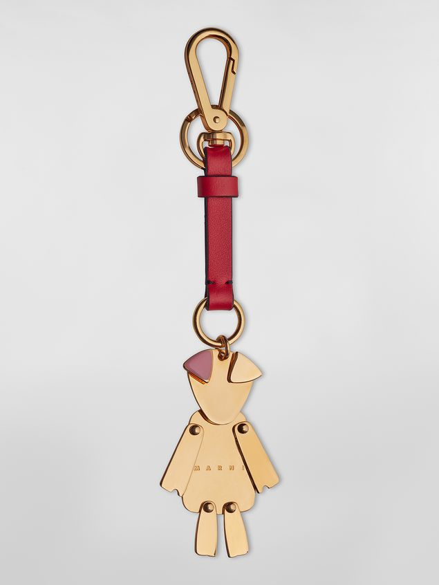 Marni CHINESE NEW YEAR keychain in metal  Woman - 1