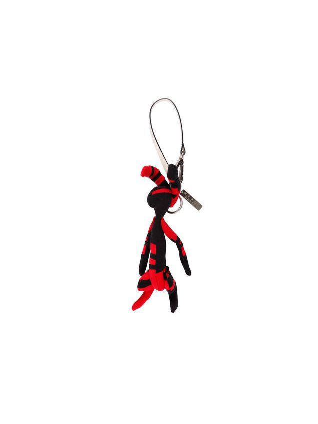 Marni Rabbit-shaped pendant in bi-colored cotton Man - 2