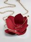 Marni FLORA necklace in fabric and rhinestones with red flower  Woman - 3
