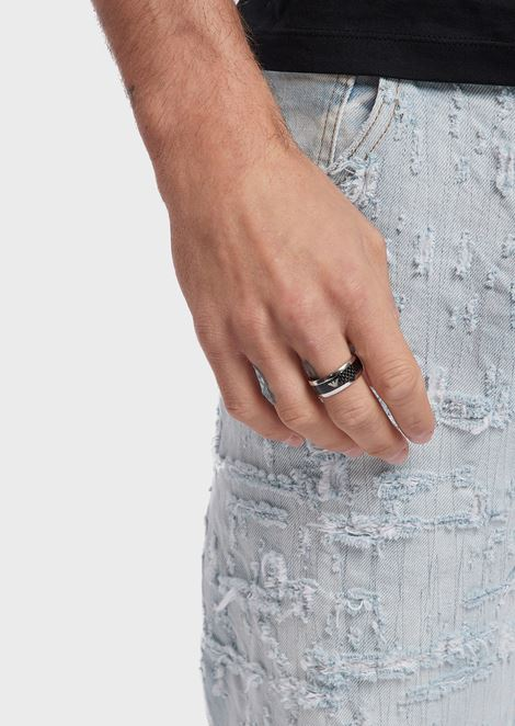 Man stainless steel ring