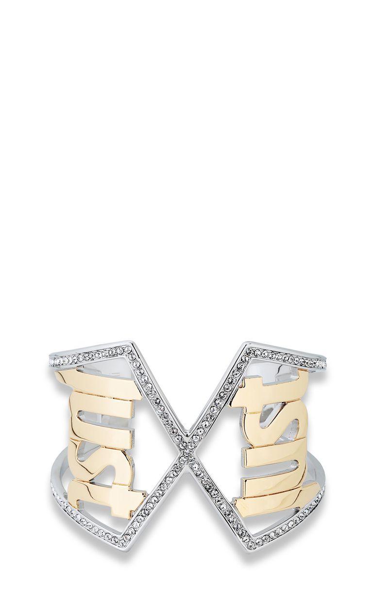 JUST CAVALLI Logo bracelet Bracelet Woman f