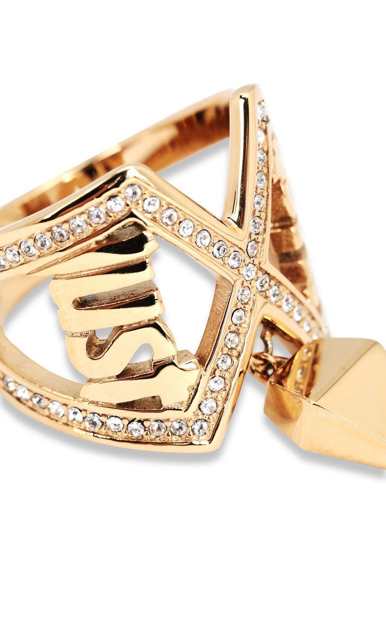 JUST CAVALLI Logo ring Ring Woman d