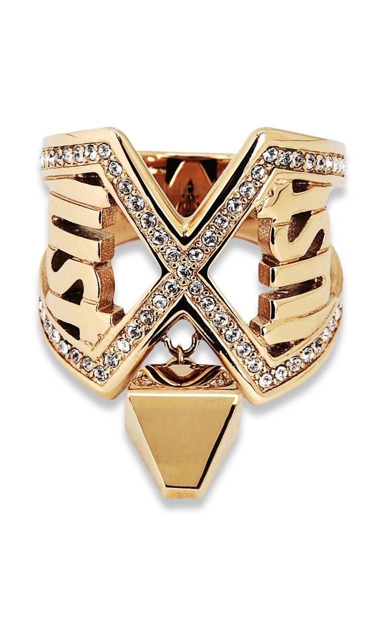 JUST CAVALLI Logo ring Ring Woman e