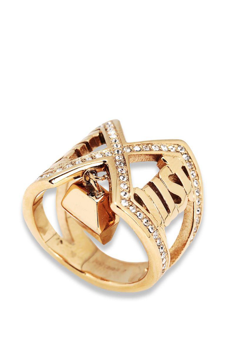 JUST CAVALLI Logo ring Ring Woman f