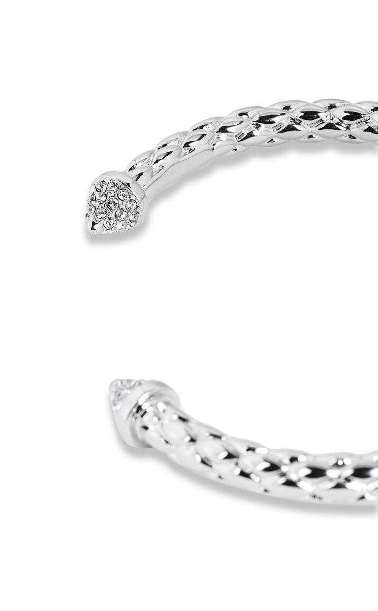 JUST CAVALLI Silver-tone bracelet Bracelet Woman e